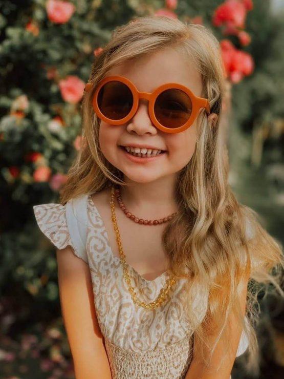 Grech-And-Co-gyerek napszemüveg rust