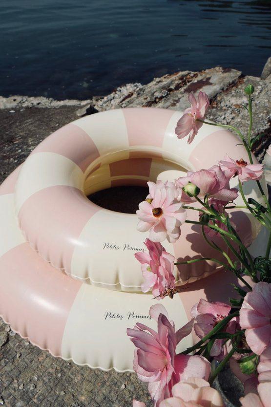 petites pommes Úszógumi pasztell rózsaszín