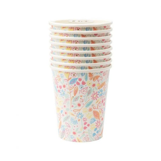 meri meri hercegnő poharak