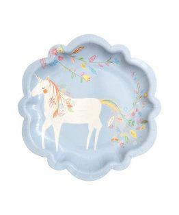 varázslatos hercegnő party tányér