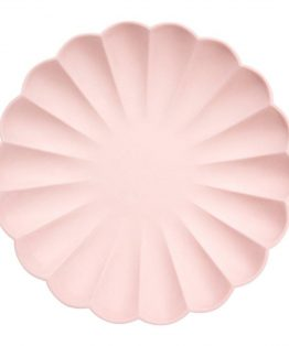 meri meri rózsaszín papírtányér