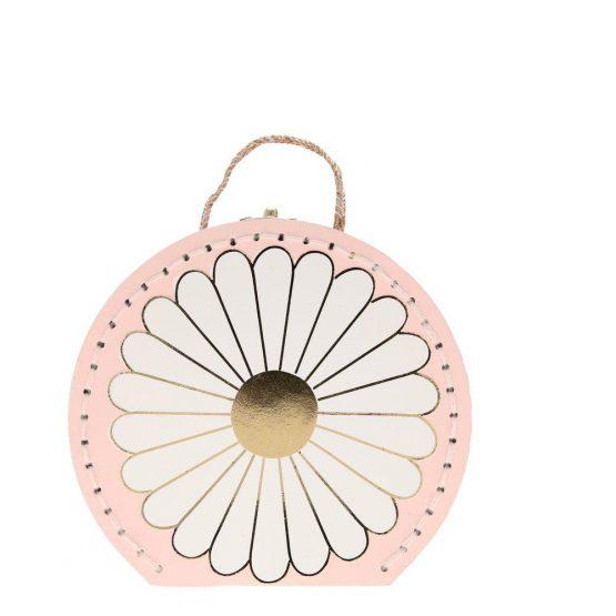 Meri Meri - Pillangó virágos bőröndben